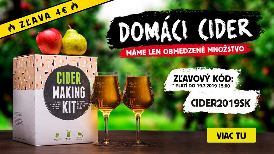 Domáci cidery