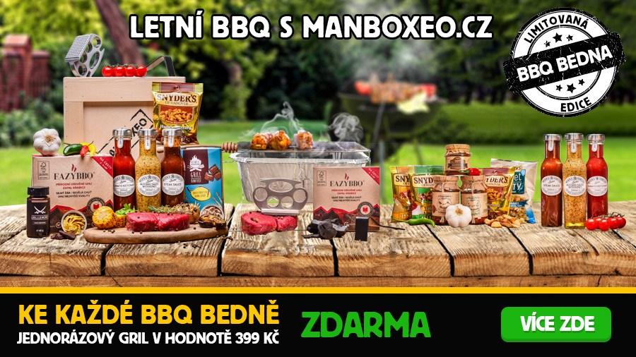 BBQ Bedna + gril