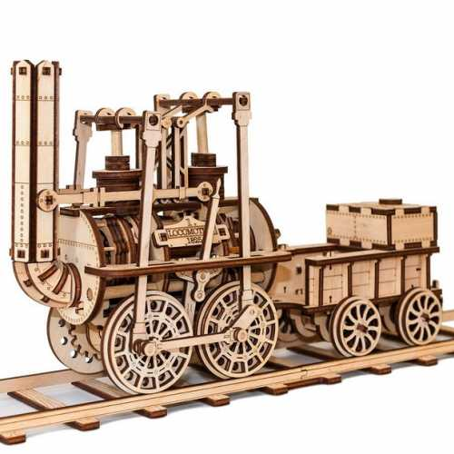 3D dřevěný model Locomotion