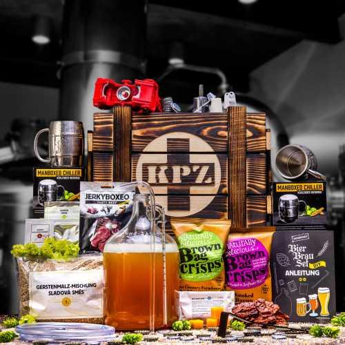 Bedna KPZ s domácím pivovarem Premium