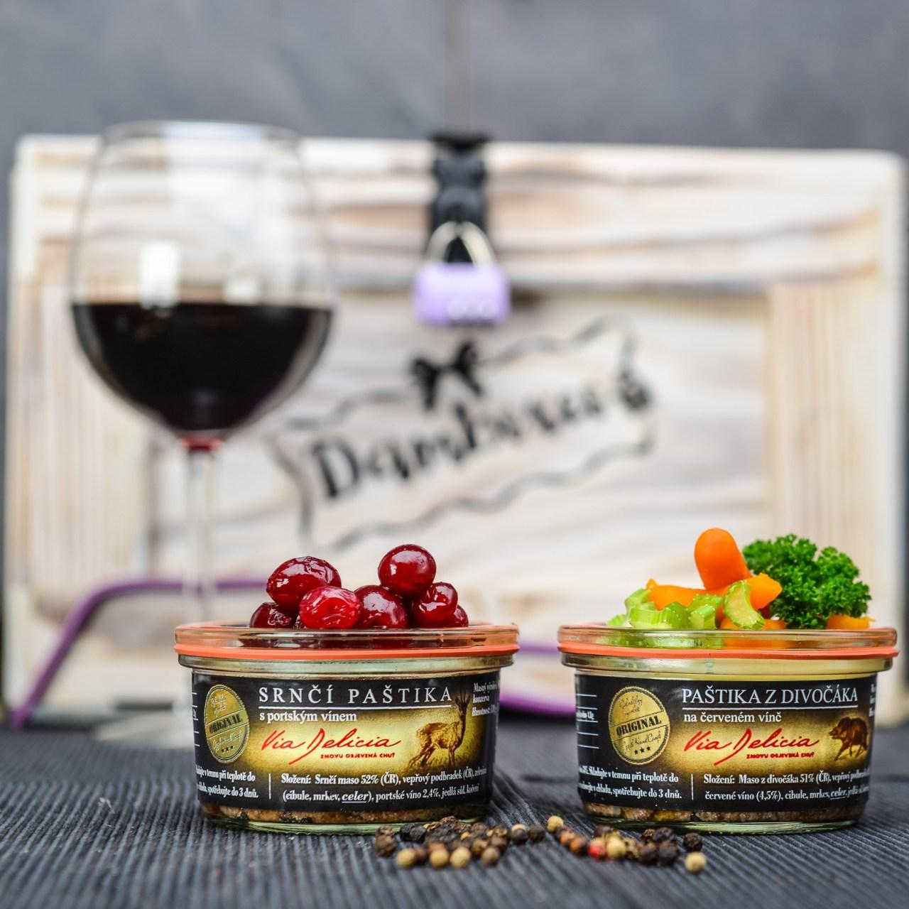 Srnčí paštika s portským vínem, Paštika z divočáka