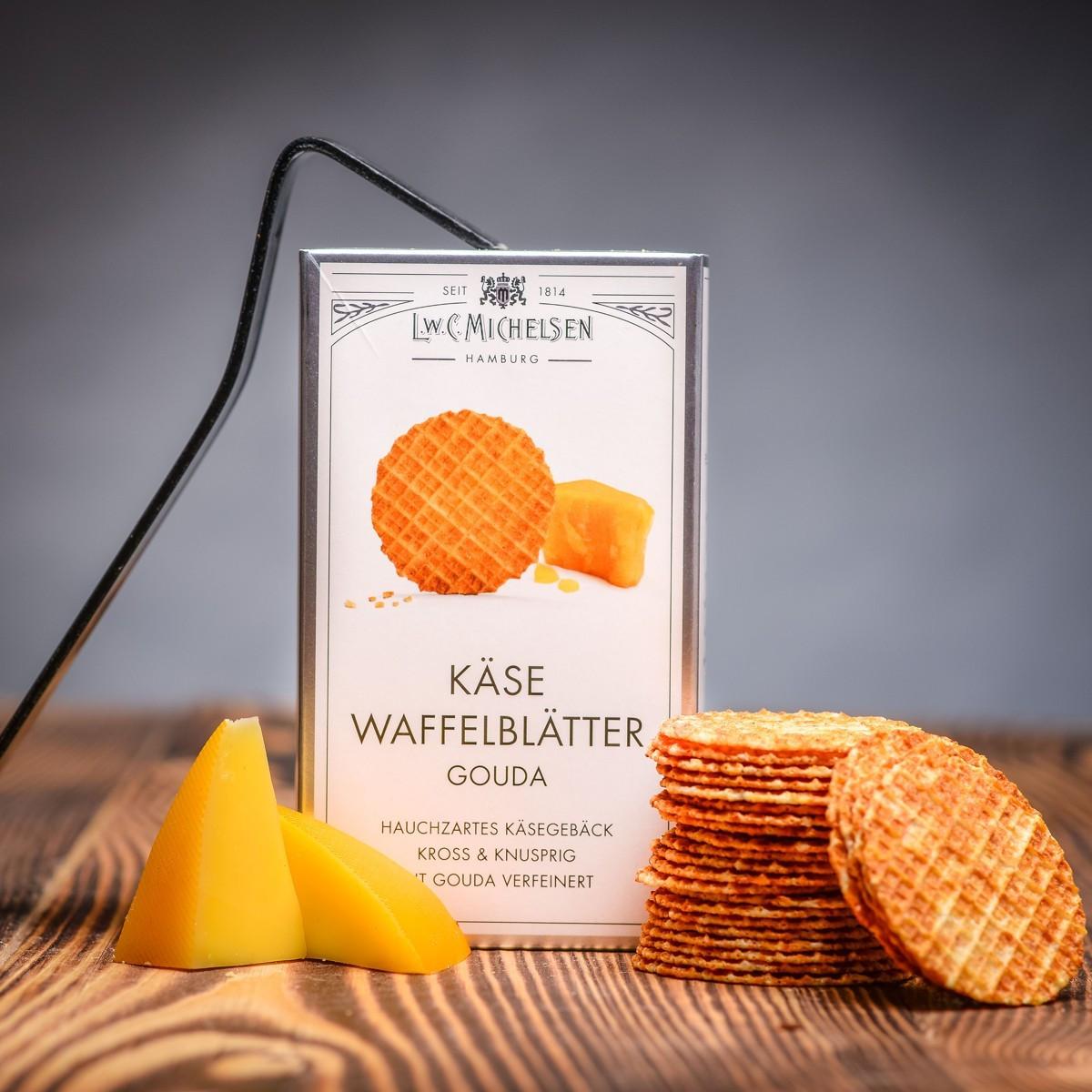 Kase Waffelblatter Gouda 100 g - syrove vafle.JPG