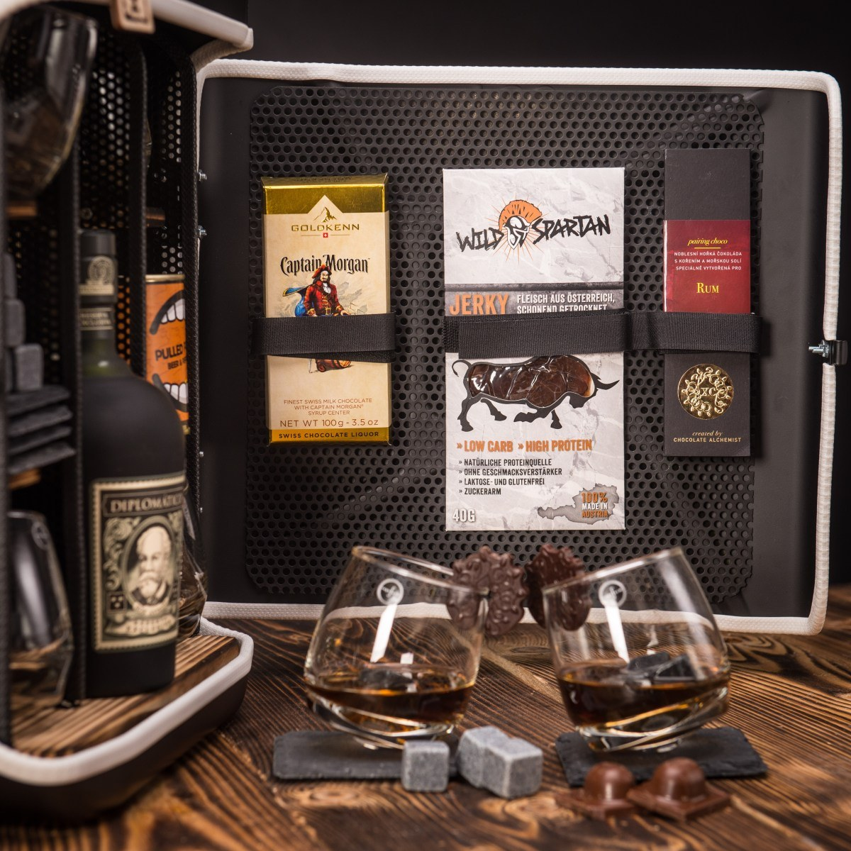 Dočasný Rum Manboxeo Bar Lékárnička