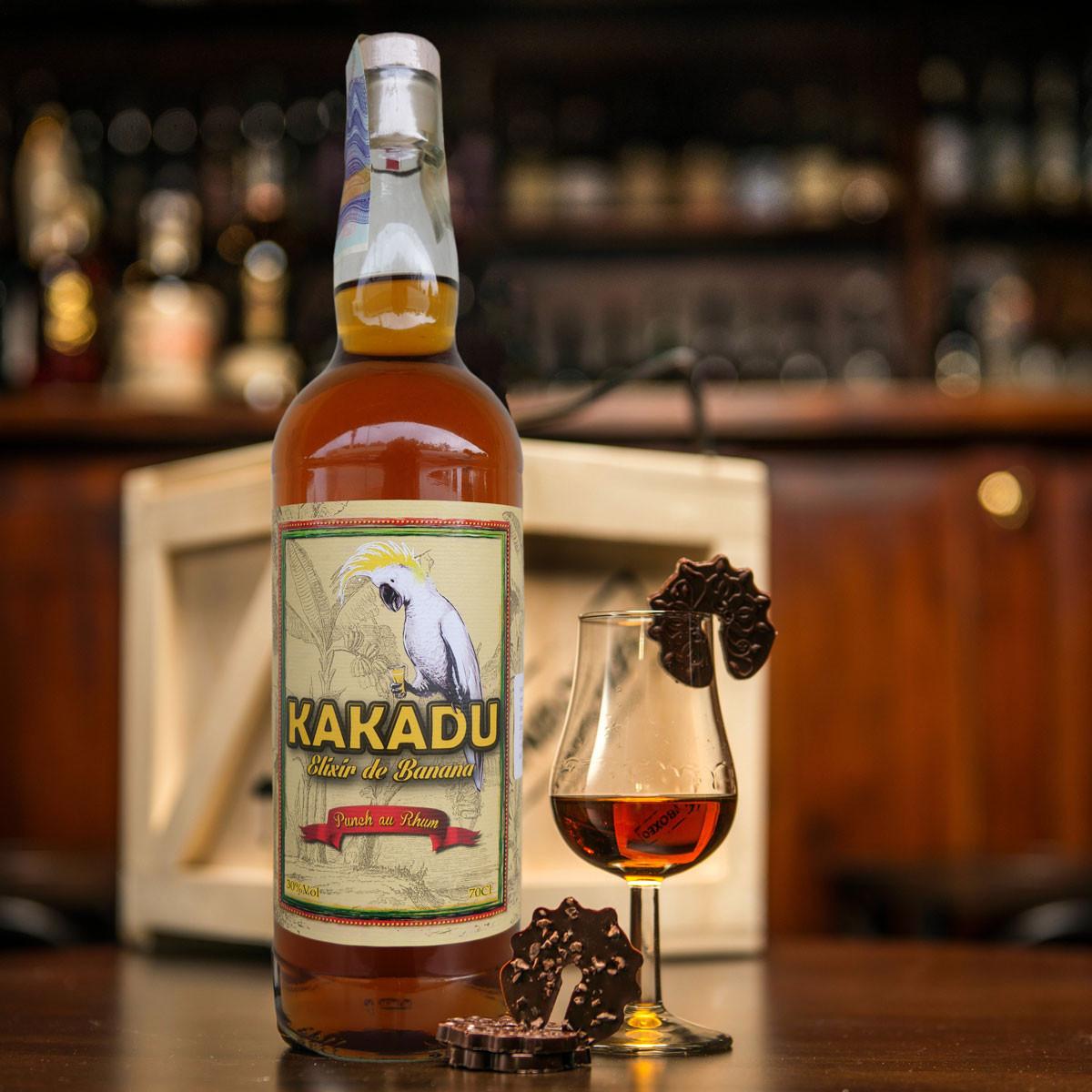 Bedna s rumem Kakadu
