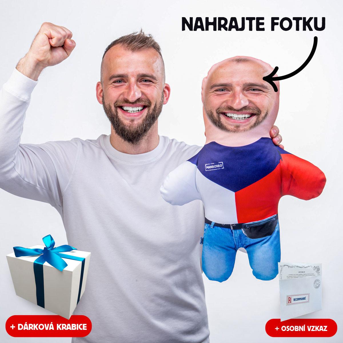 MiniKlon Hokejový fanda v dárkové krabici