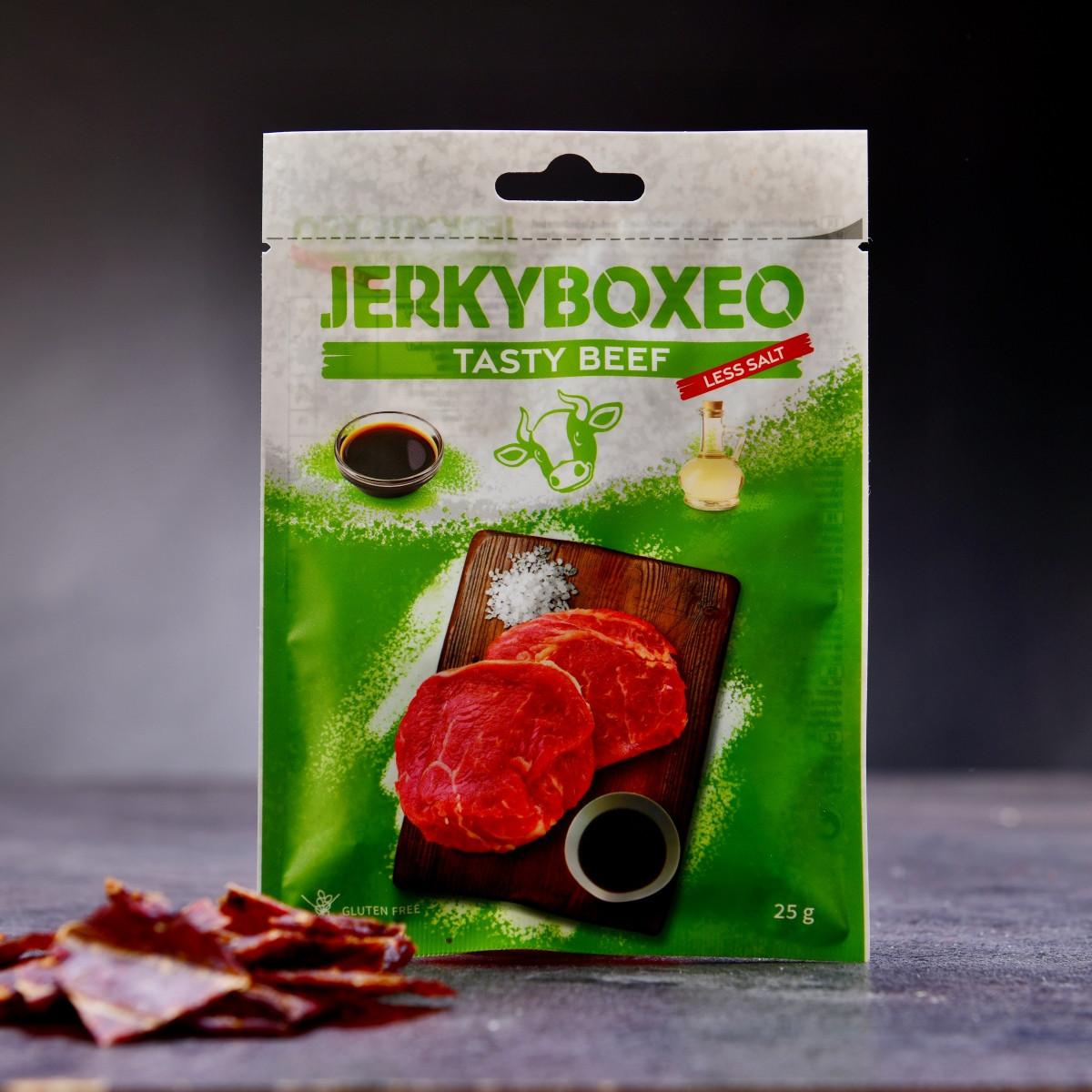 Set prémiového sušeného masa Jerkyboxeo