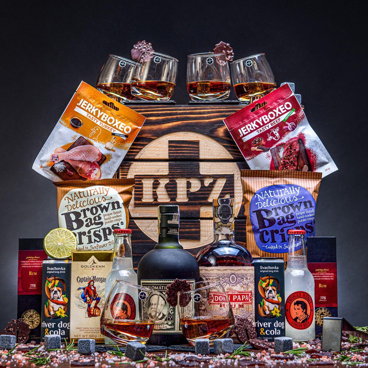 KPZ Bedna plná rumu