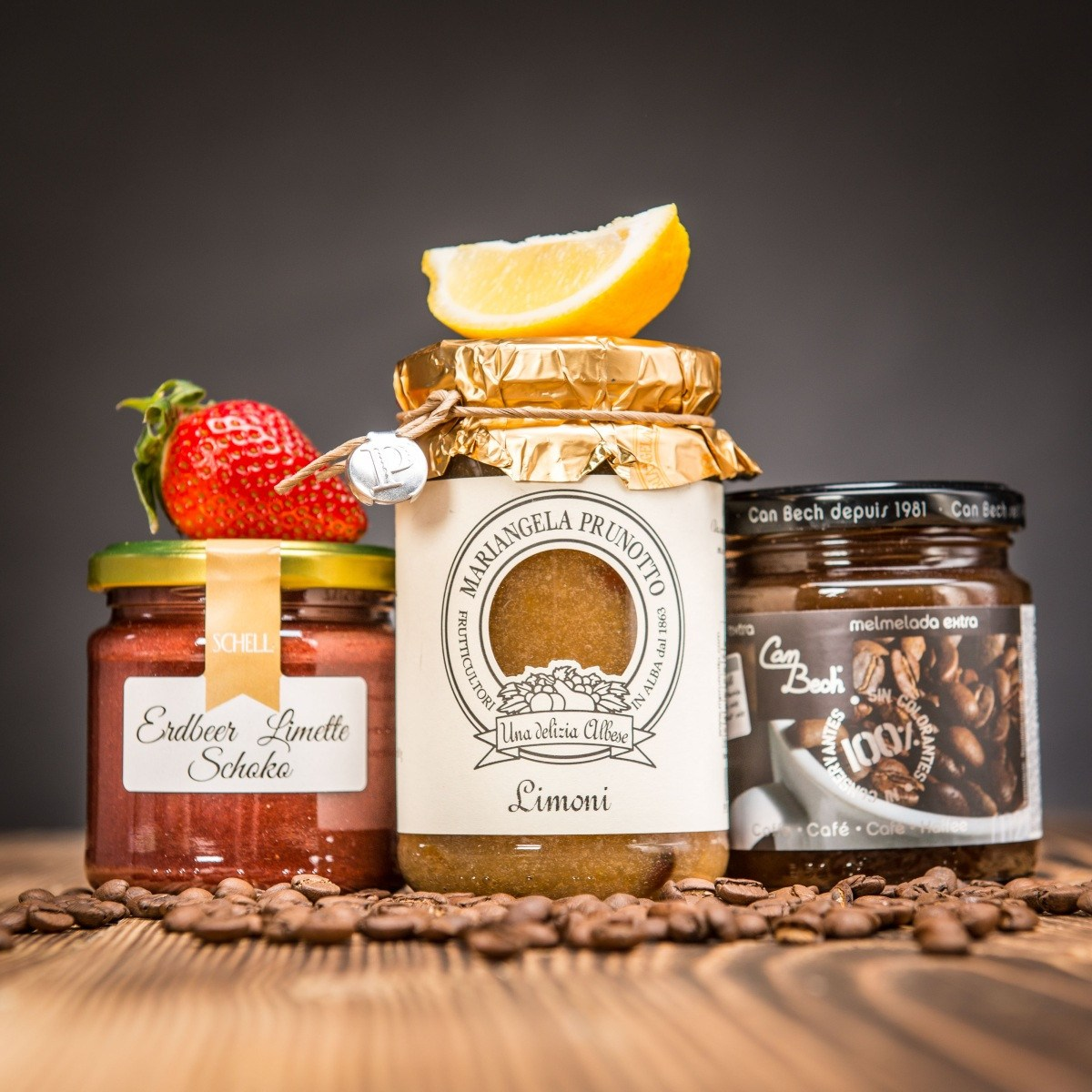 Set marmelád v netradičních kombinacích