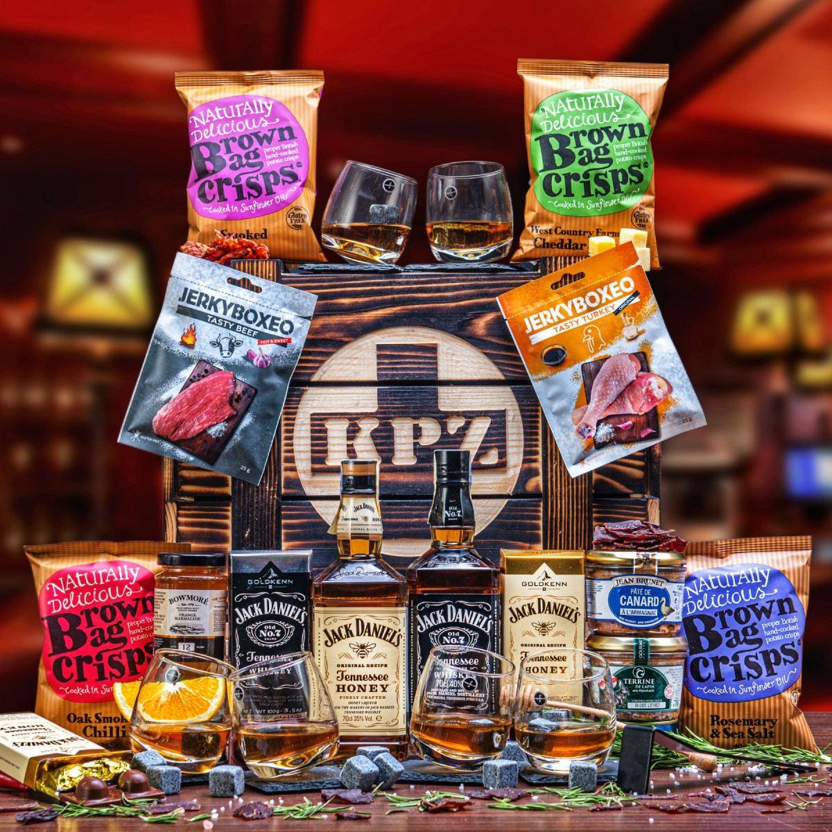Bedna KPZ s Jack Daniel's