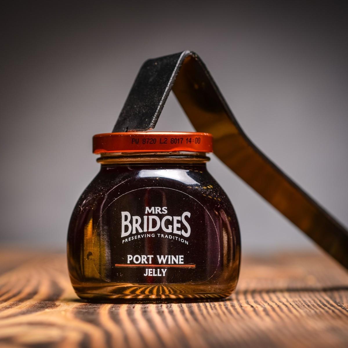 Port Wine Jelly - zelé z portskeho vina 250 g Mrs Bridges.JPG