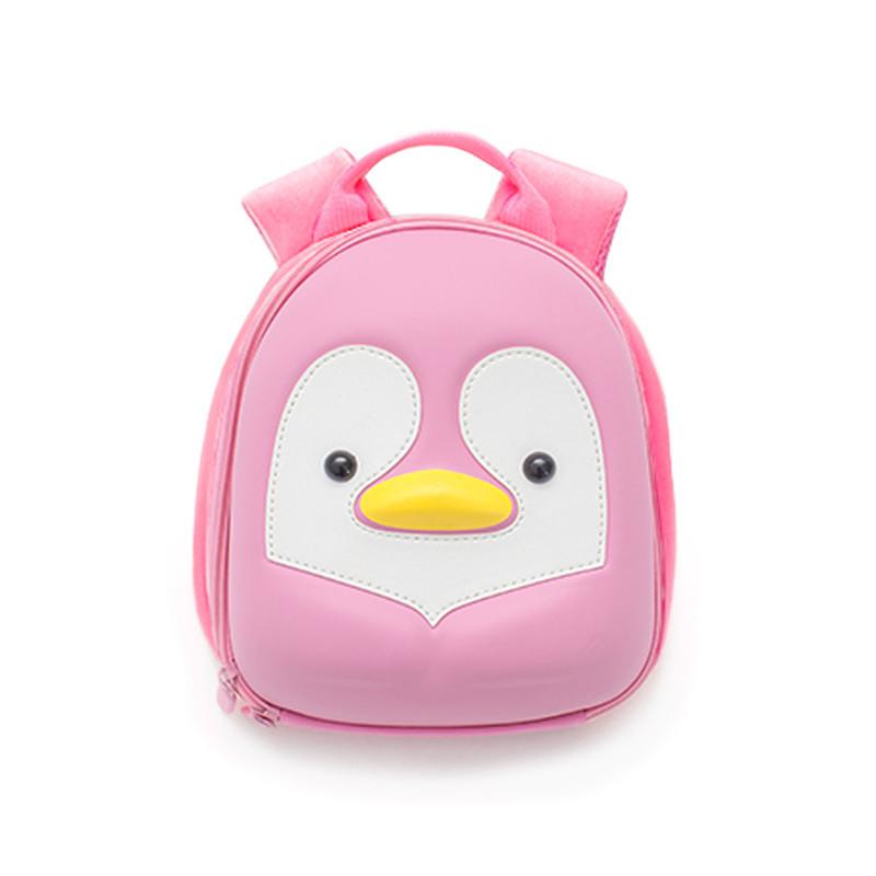 Batůžek Růžový tučňák