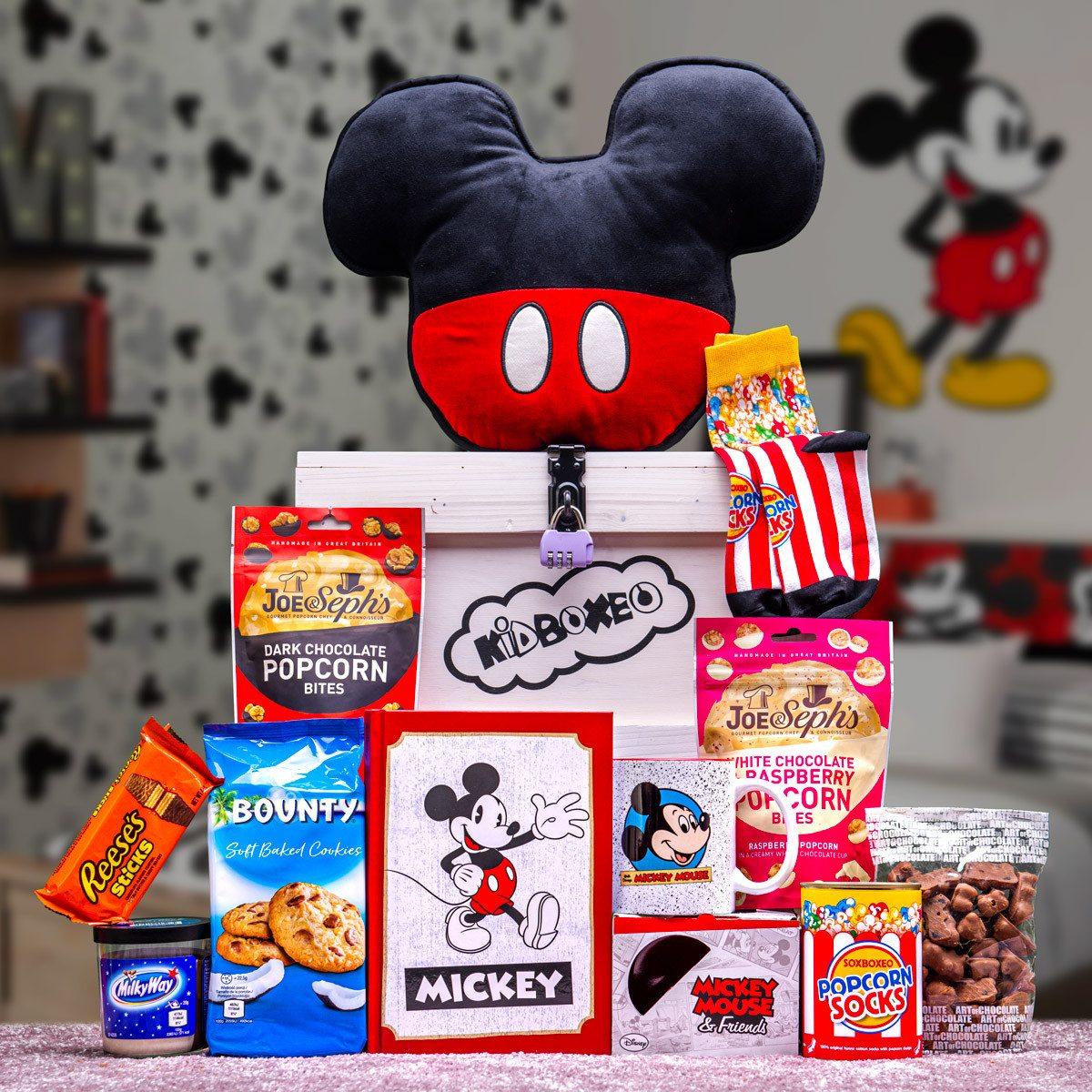 Dívčí Kidboxeo s Mickey Mousem