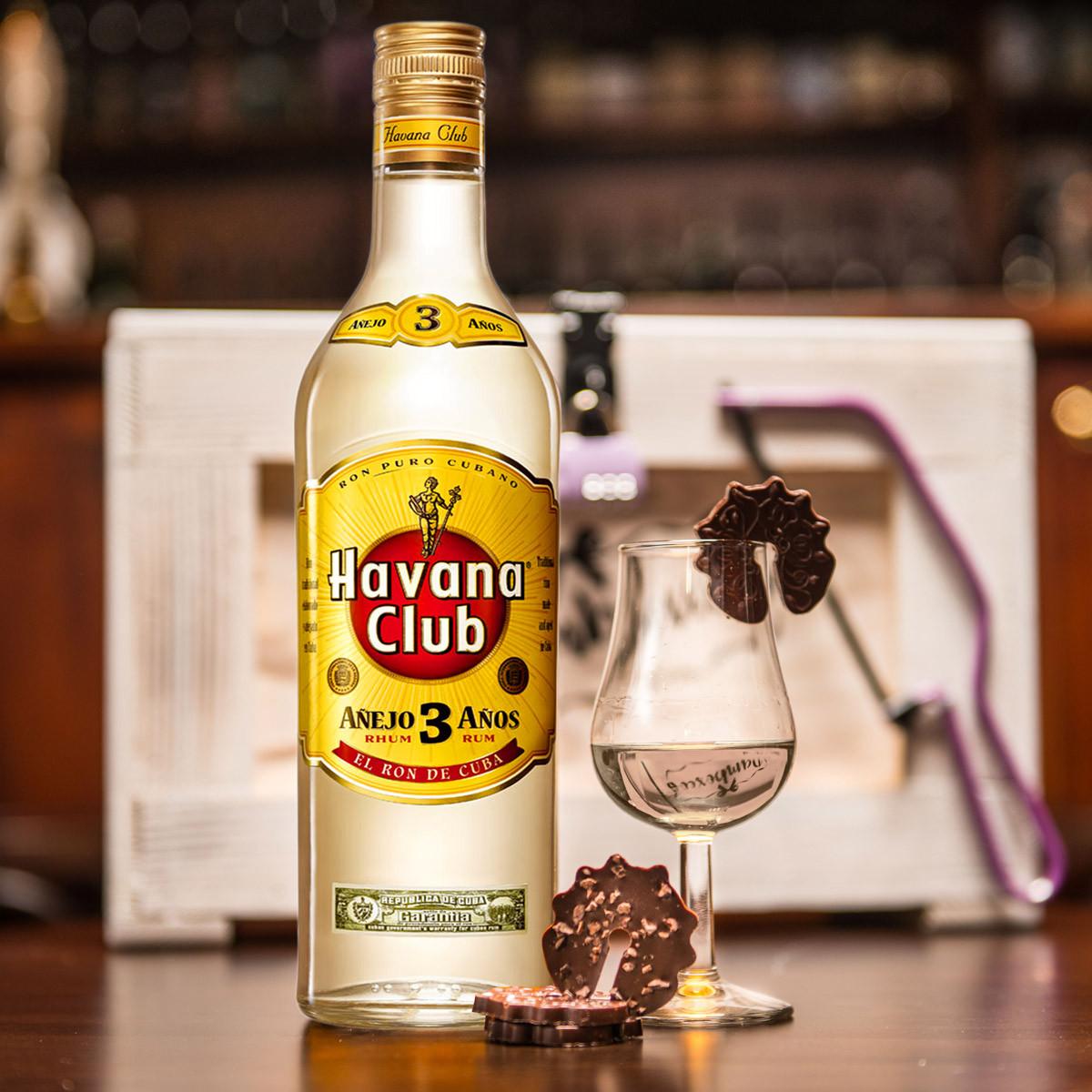 Truhla s rumem Havana