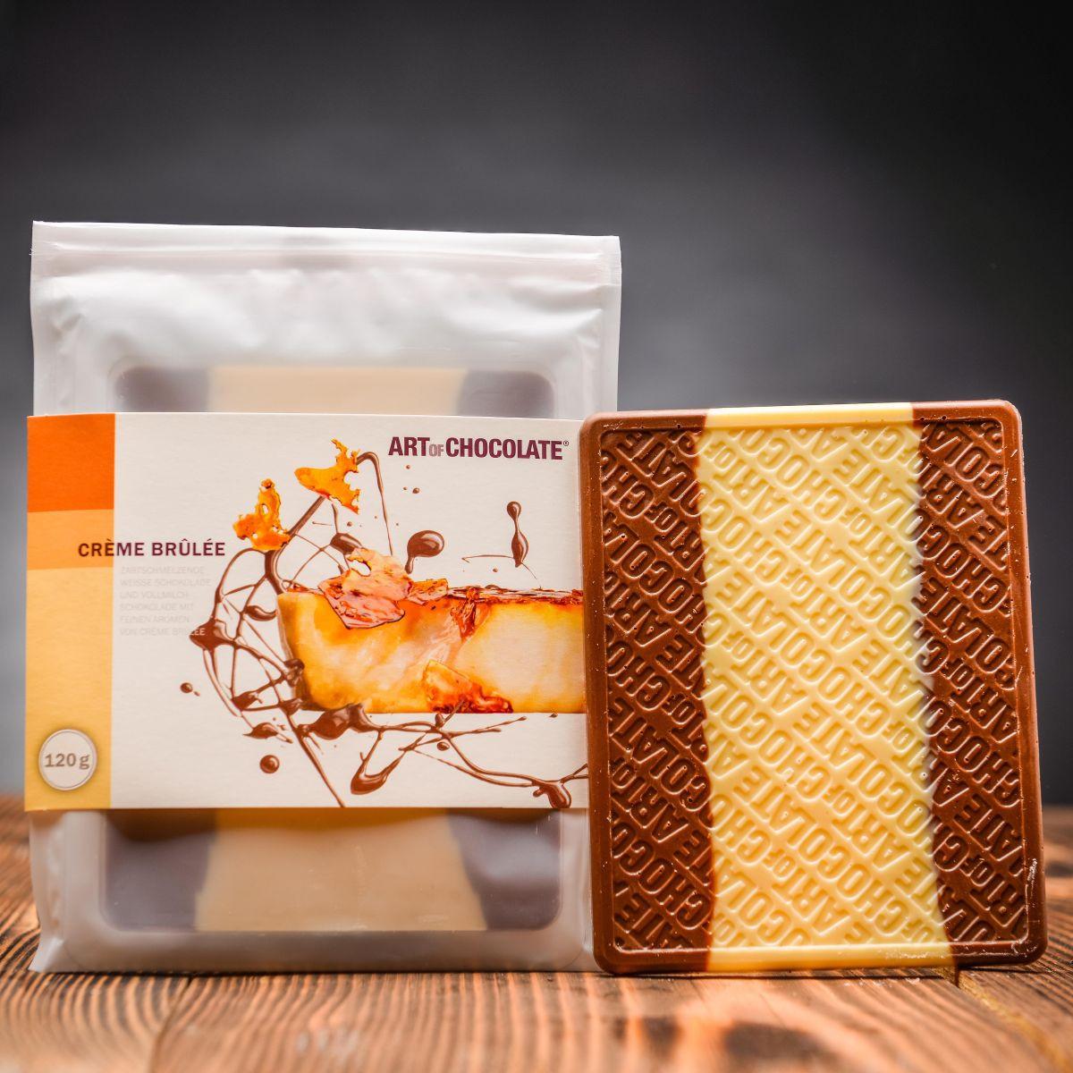 Set Art of Chocolate Gebrannte Mandel, Créme Brulée a Vanille
