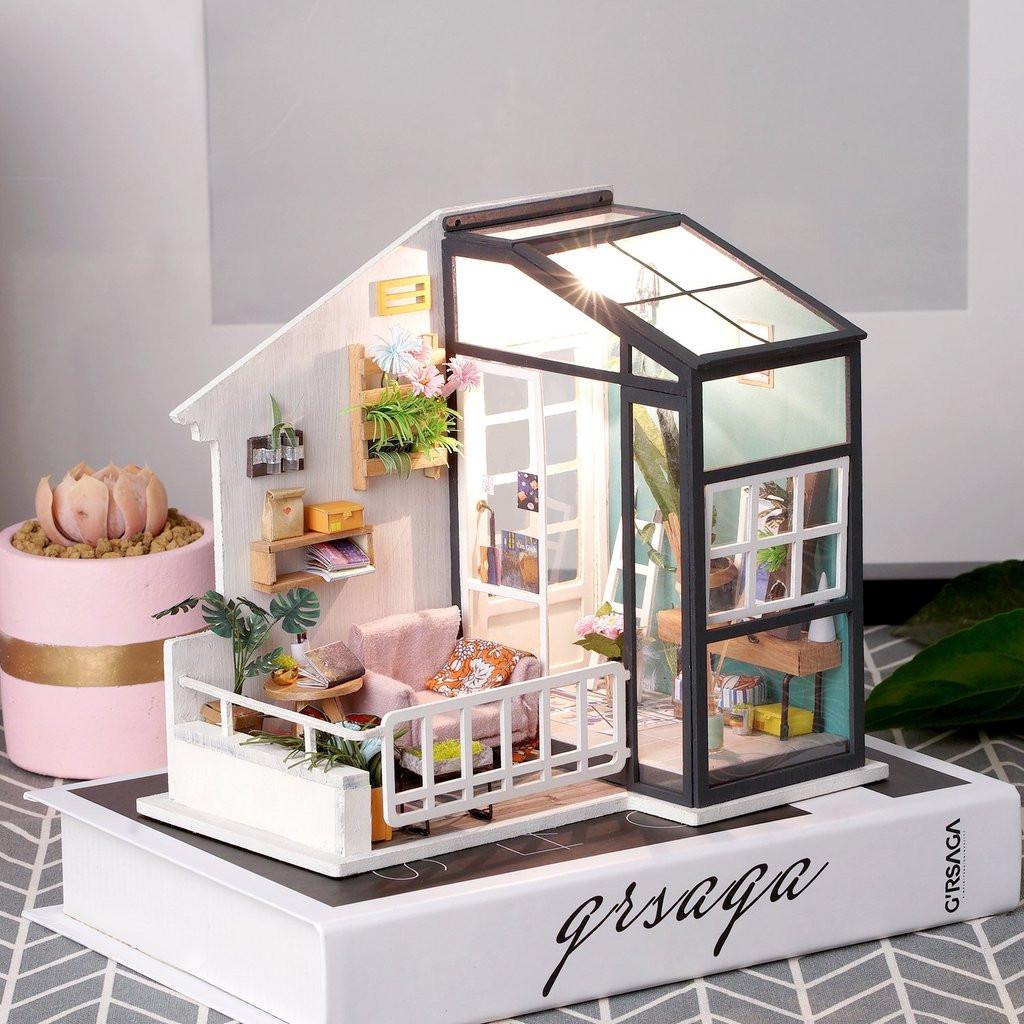 Udělej si sám: Model balkonu