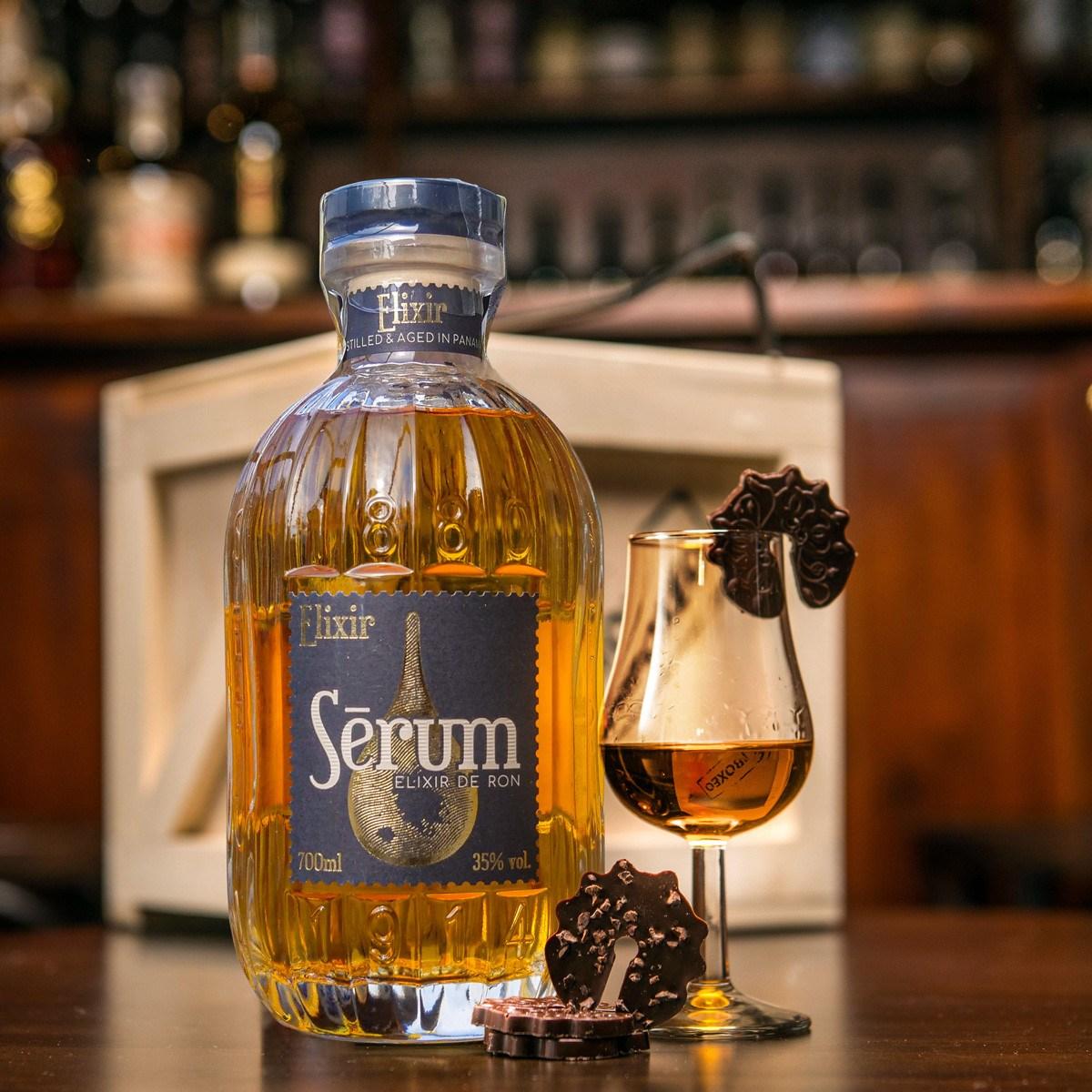 Bedna s rumem Serum Elixir