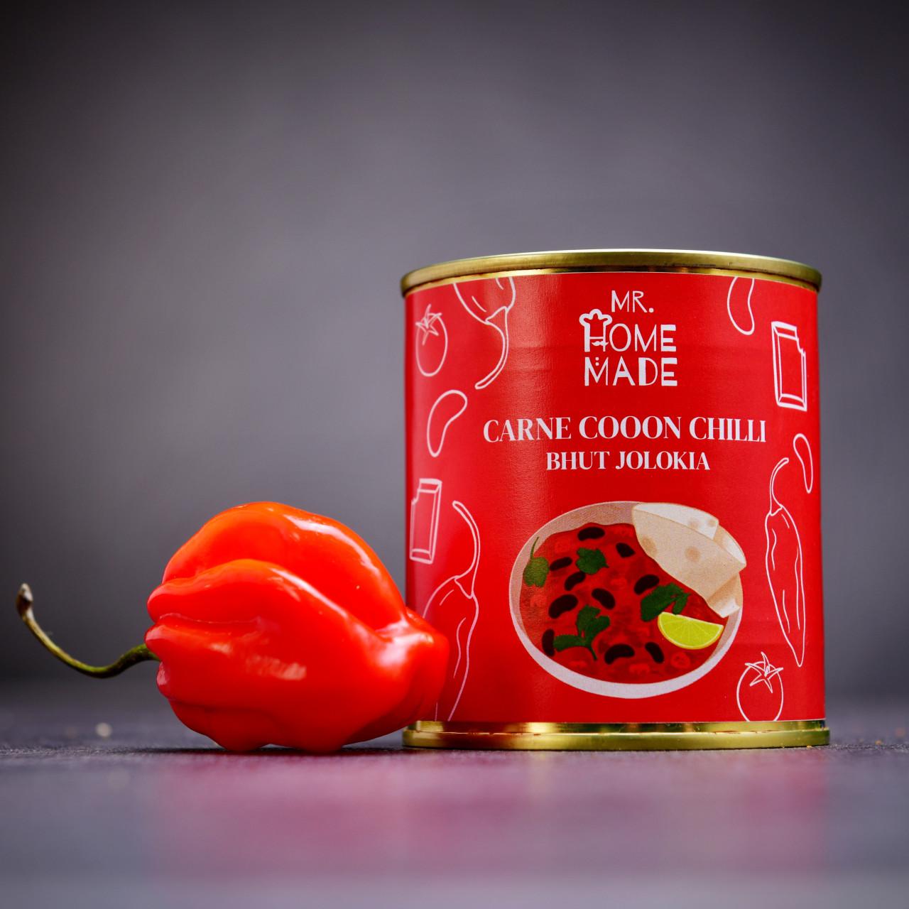Carne cooooon chilli Bhut Jolokia 300 g