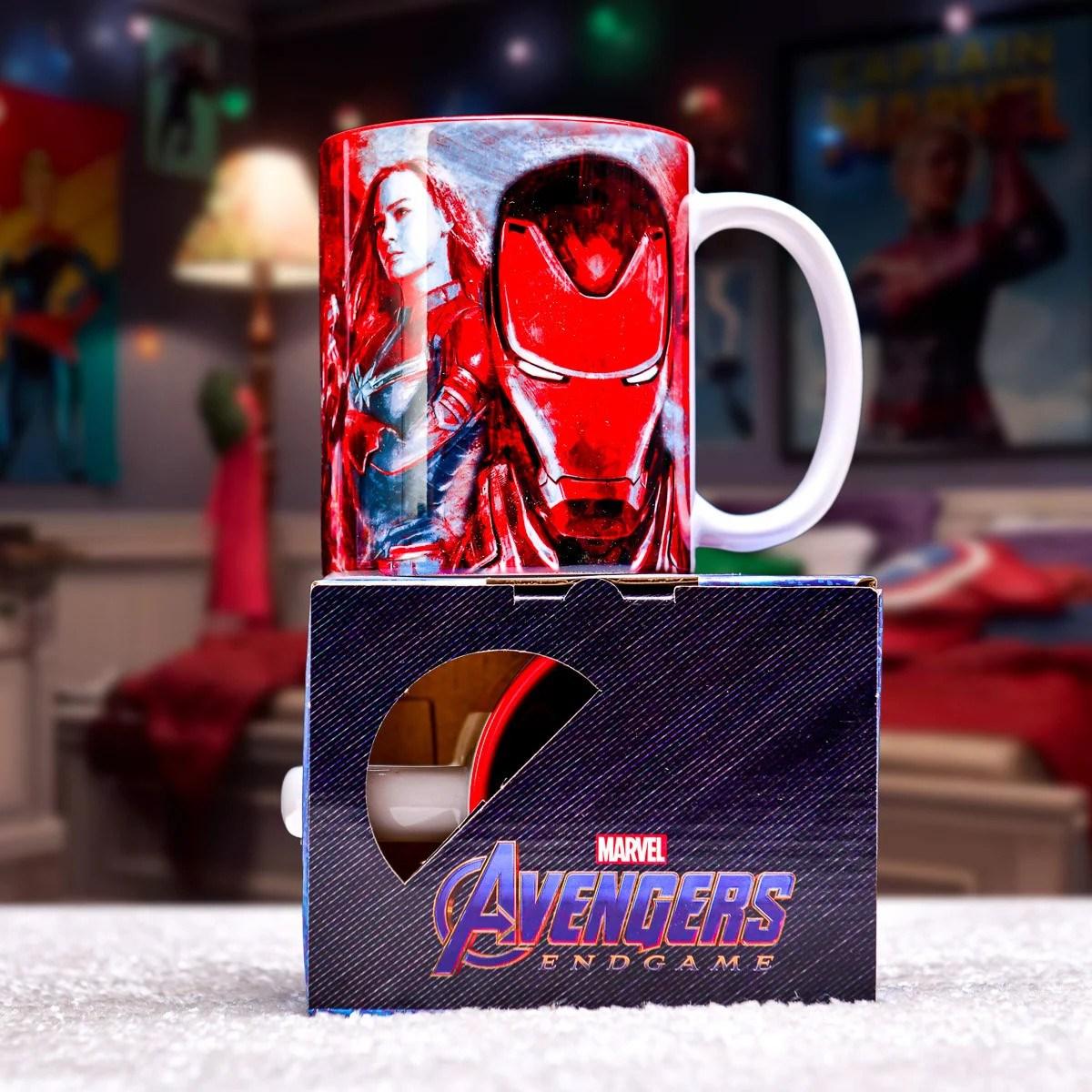 Bedna pro fanouška Avengers