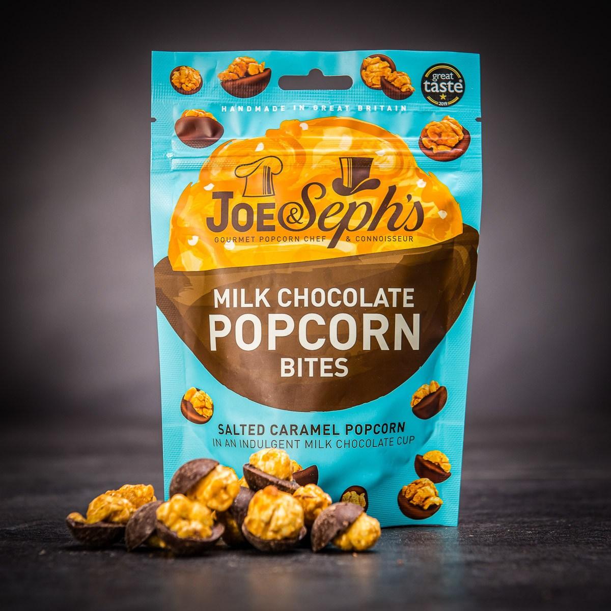 Set exkluzivního popcornu v luxusní čokoládě