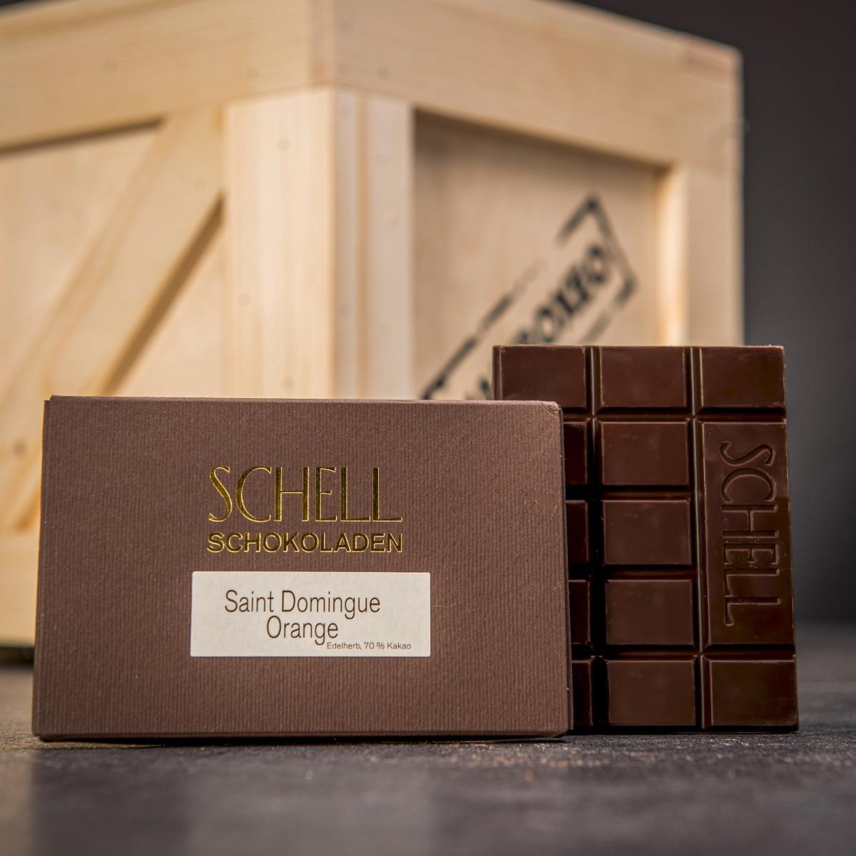 Bedna plná čokolády