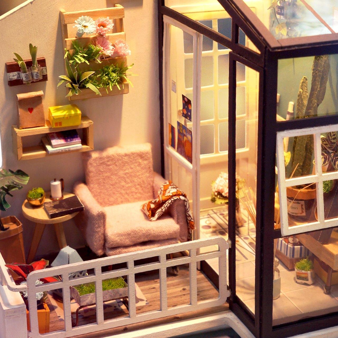 DIY model balkonu