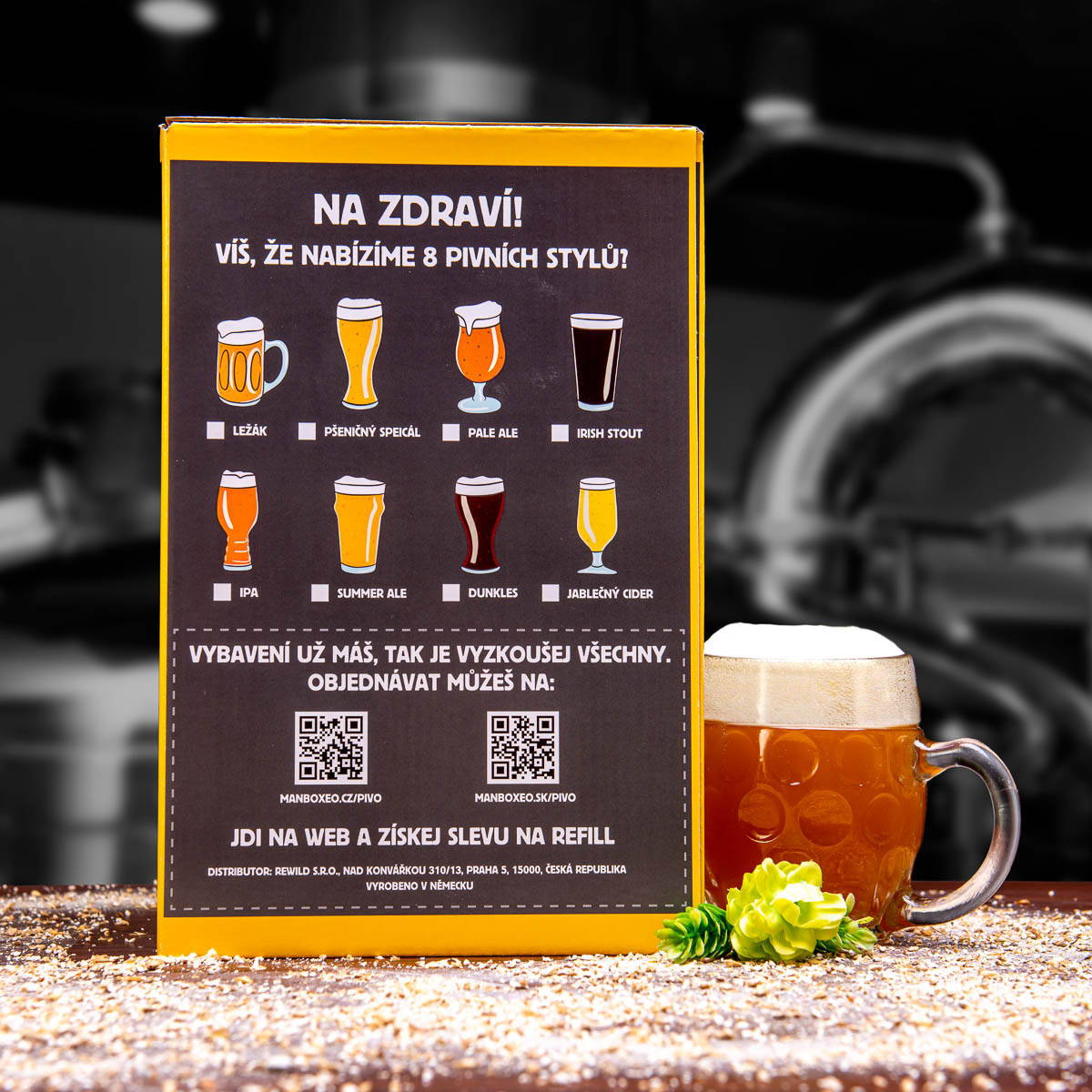 Domácí pivovar pro pokročilé XXXL