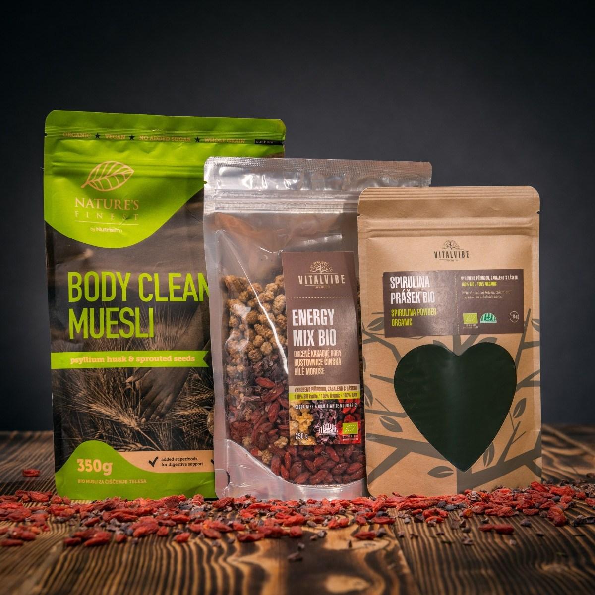 Set superpotravin pro zdraví