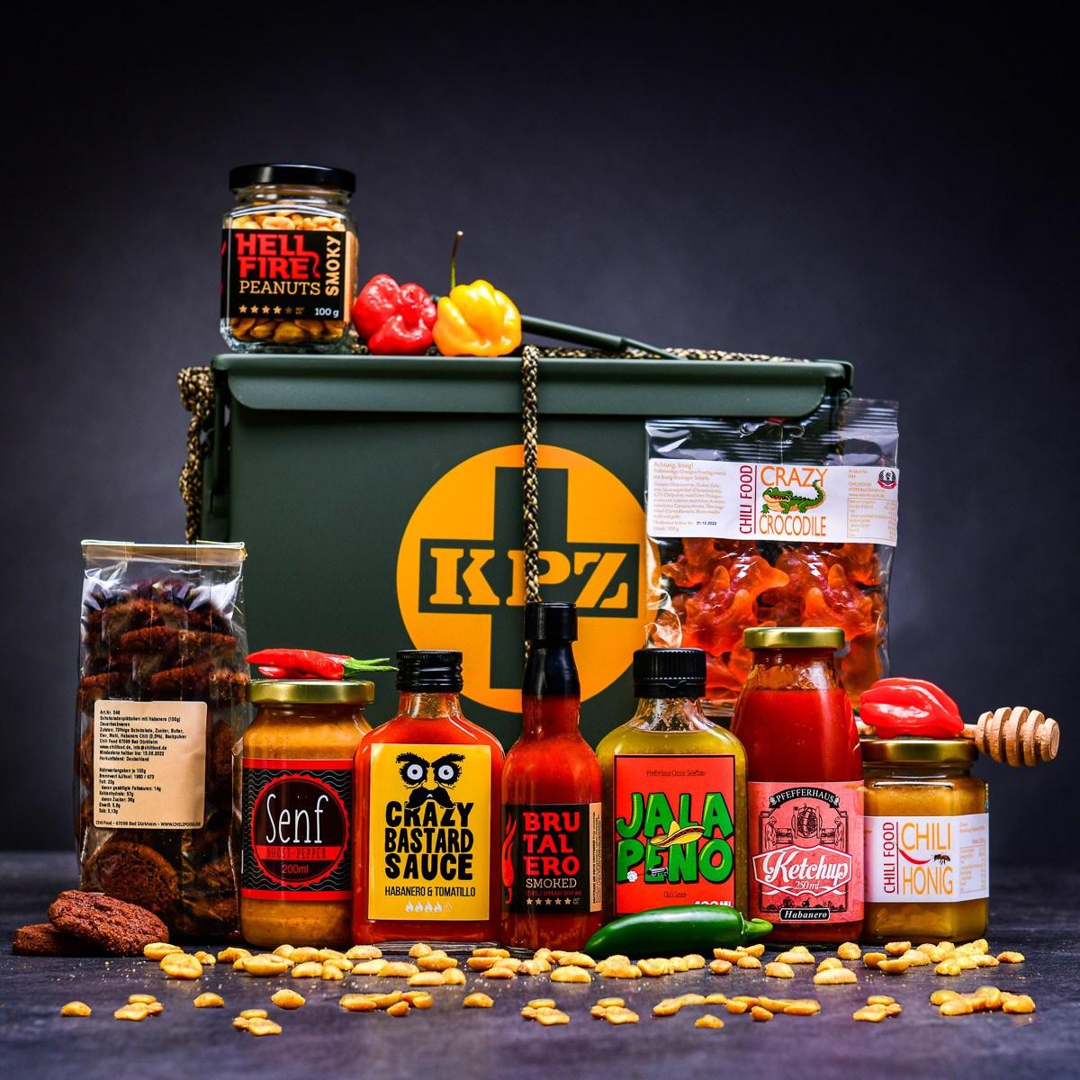 Armyboxeo s chilli VELMI PÁLIVÉ