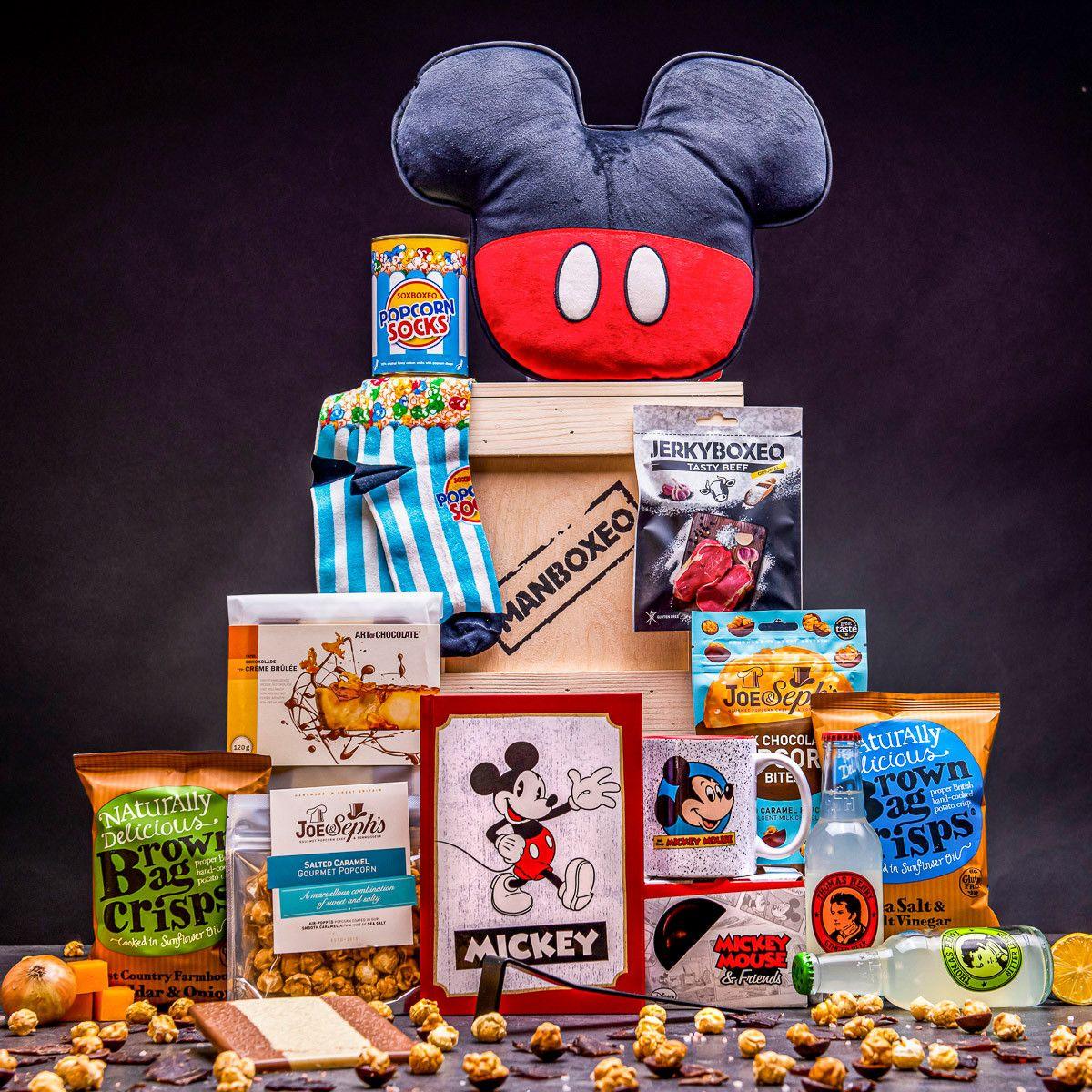 Bedna pro fanouška Mickey Mouse