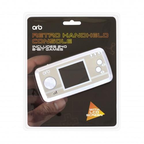 ORB herní konzole - Retro Handheld Console (Silver)