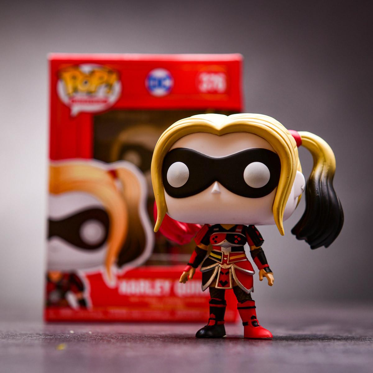 Truhla pro fanynku Harley Quinn