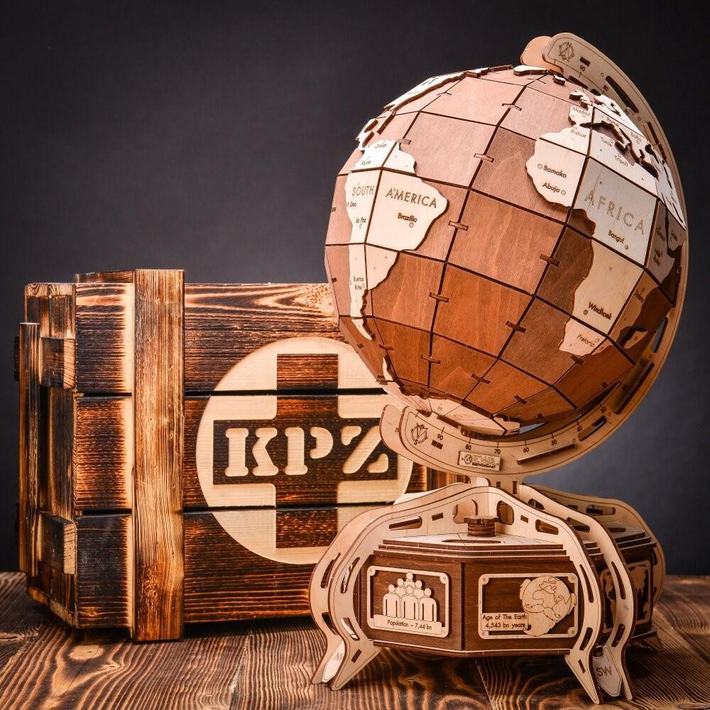 KPZ The Globe (brown)