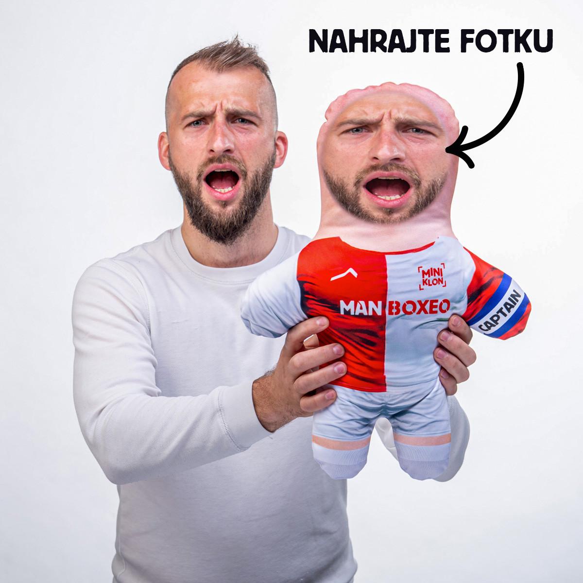 MiniKlon Červenobílý fotbalista