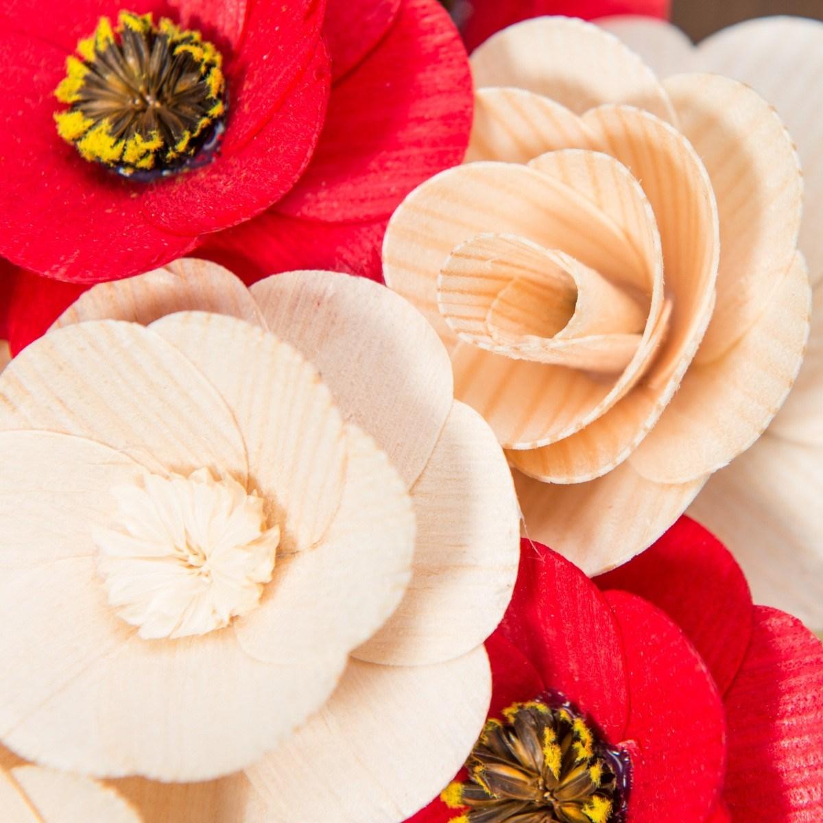 Malá kytice přírodní – 21 ks
