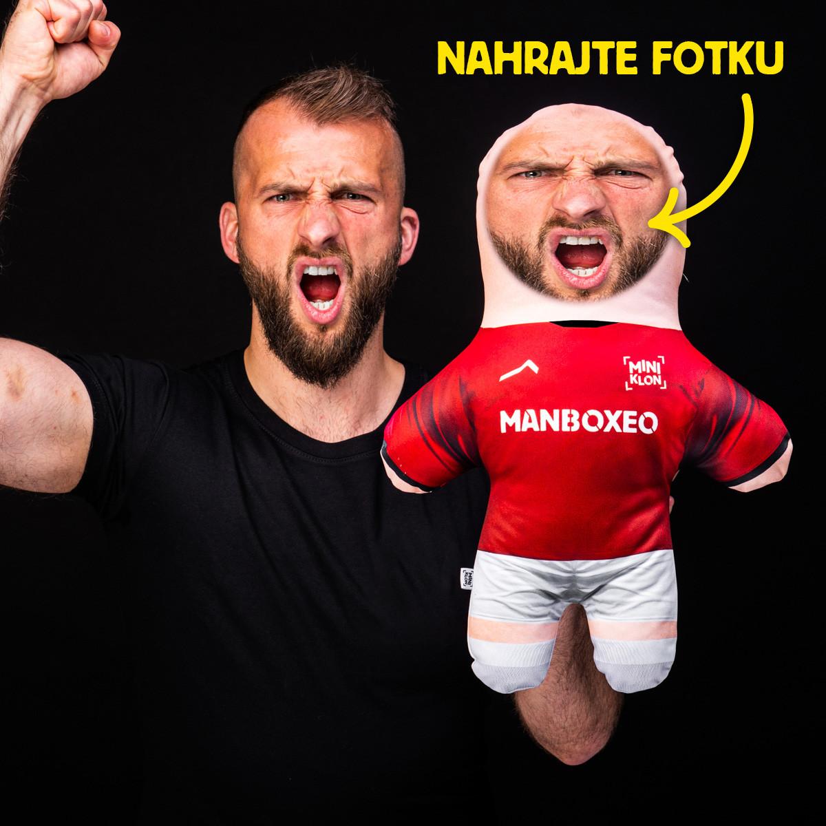 MiniKlon Rudý fotbalista