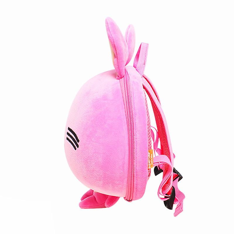 Batůžek Růžový zajíček