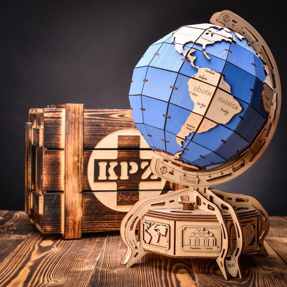 KPZ The Globe (blue)