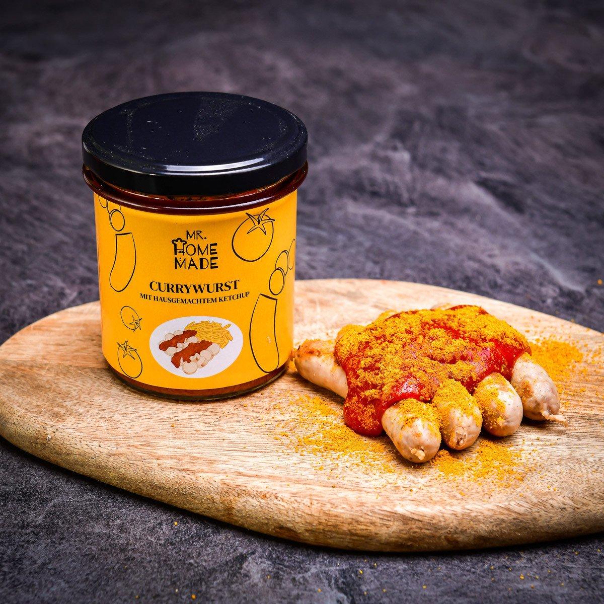 Bavorské klobásky s curry omáčkou 300 g