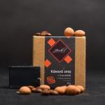 Kávová zrna v čokoládě