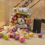 Ovocné bonbony Mrs. Bridges ve skleněné dóze