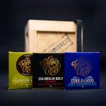 Kvalitní čokolády značky Willie's Cacao
