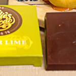 Kvalitní hořká čokoláda se zázvorem a limetkou