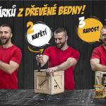 Pořádná dřevěná dárková bedna pro muže