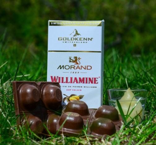 Goldkenn čokoláda s hruškovicí