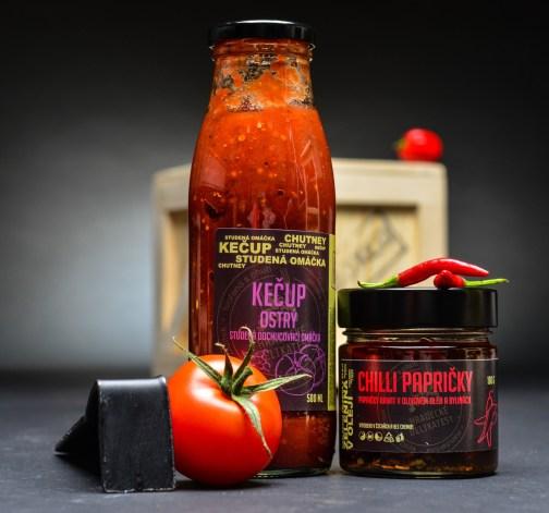 Ostrý kečup