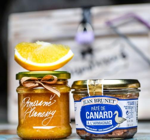 Pomerančová marmeláda s Hennessy, Kachní terina s Armaňakem