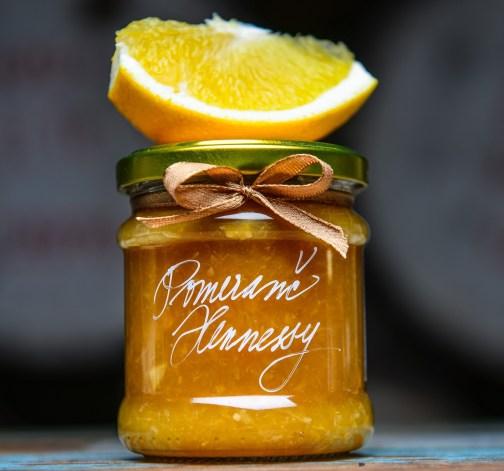 Pomerančová marmeláda s Hennessy