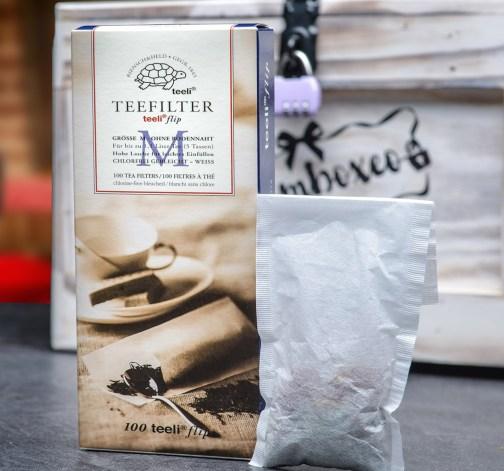 Papírové filtry pro přípravu čaje