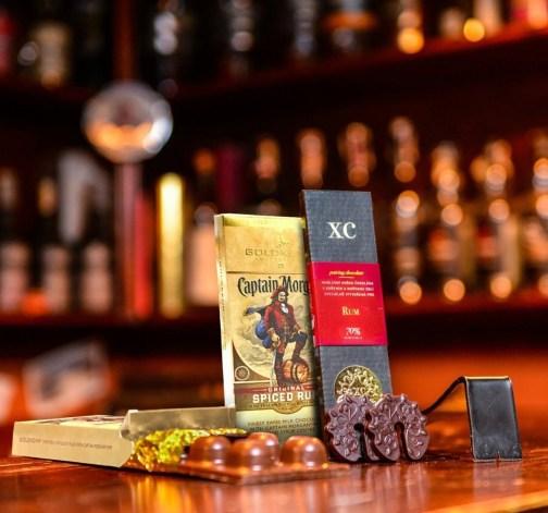 Cokolada Goldkenn Captain Morgan a cokolada k rumum.jpg