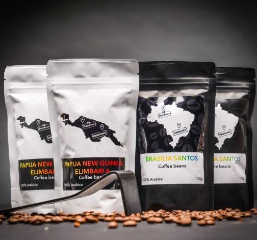 kavova zrna papua new guinea elimbaria brasilia santos 100 g.JPG